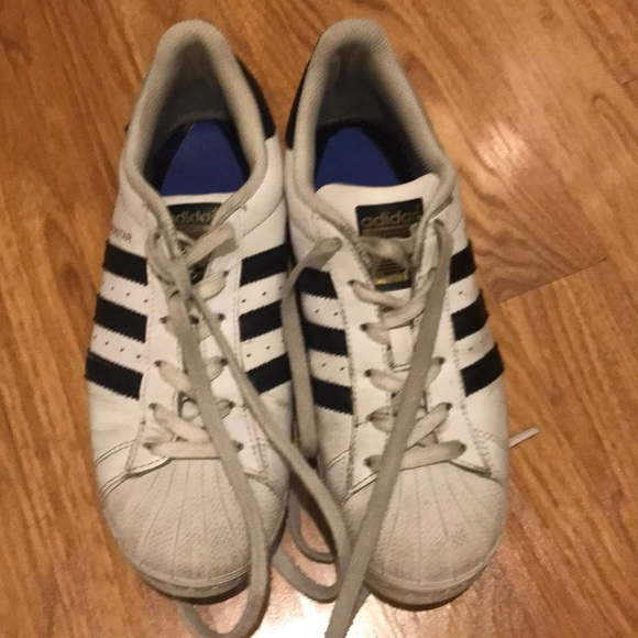 adidas Shoes | Superstar Sneakers Size